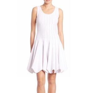 Jonathan Simkhai White Fit and Flare Dress